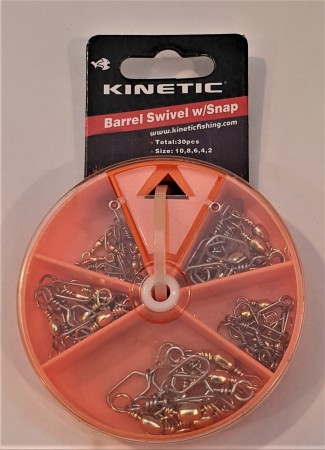 Kinetic Swivel sett str 2-4-6-8-10