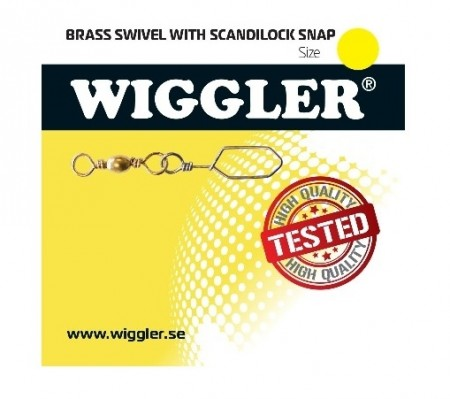 Wiggler Messing Svivel m Scandilock