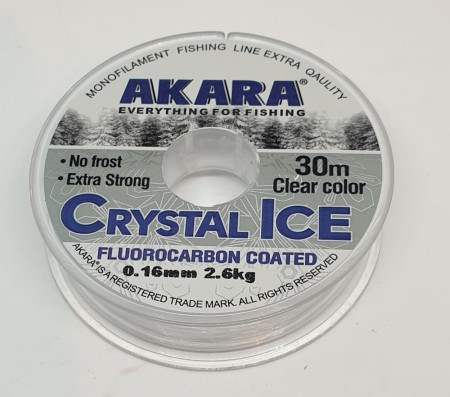 AKARA Crystal Ice Fluorcarbon Coated clear.
